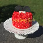 Minnie Mouse Themed Cake made by Jassy Sassy Sweets