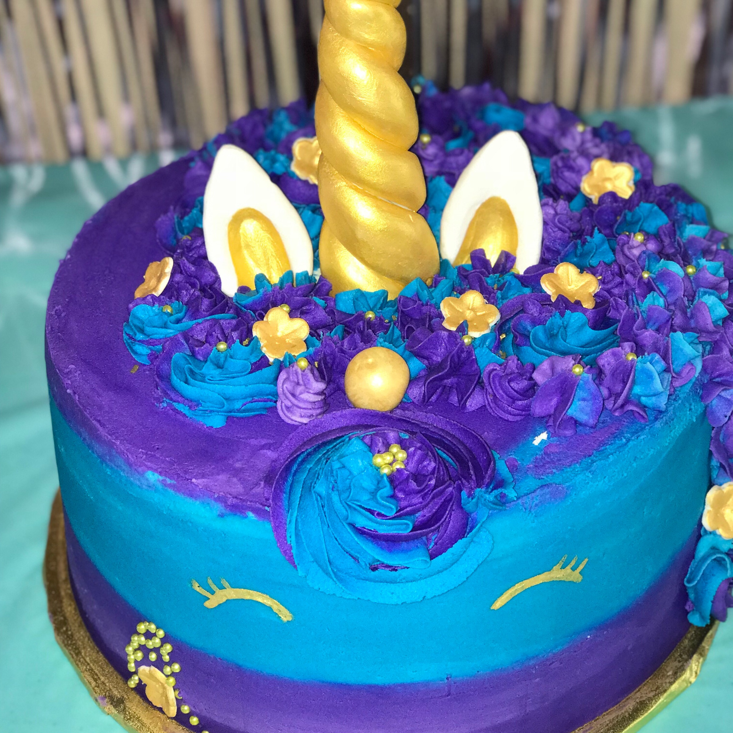 Unicorn Cake made by Jassy Sassy Sweets