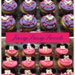 Minnie Mouse Cupcakes made by Jassy Sassy Sweets